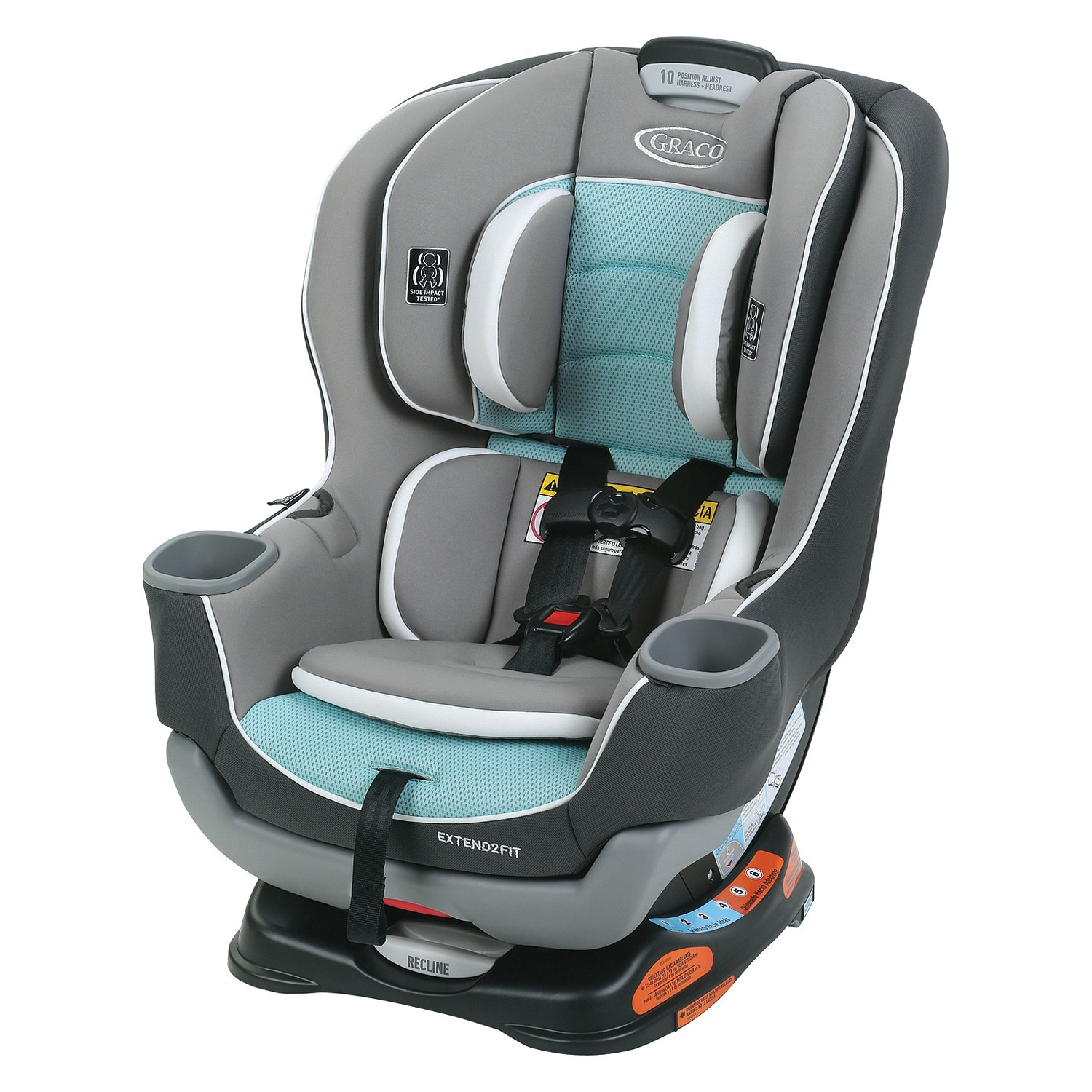 graco baby extend2fit convertible car seat. Black Bedroom Furniture Sets. Home Design Ideas