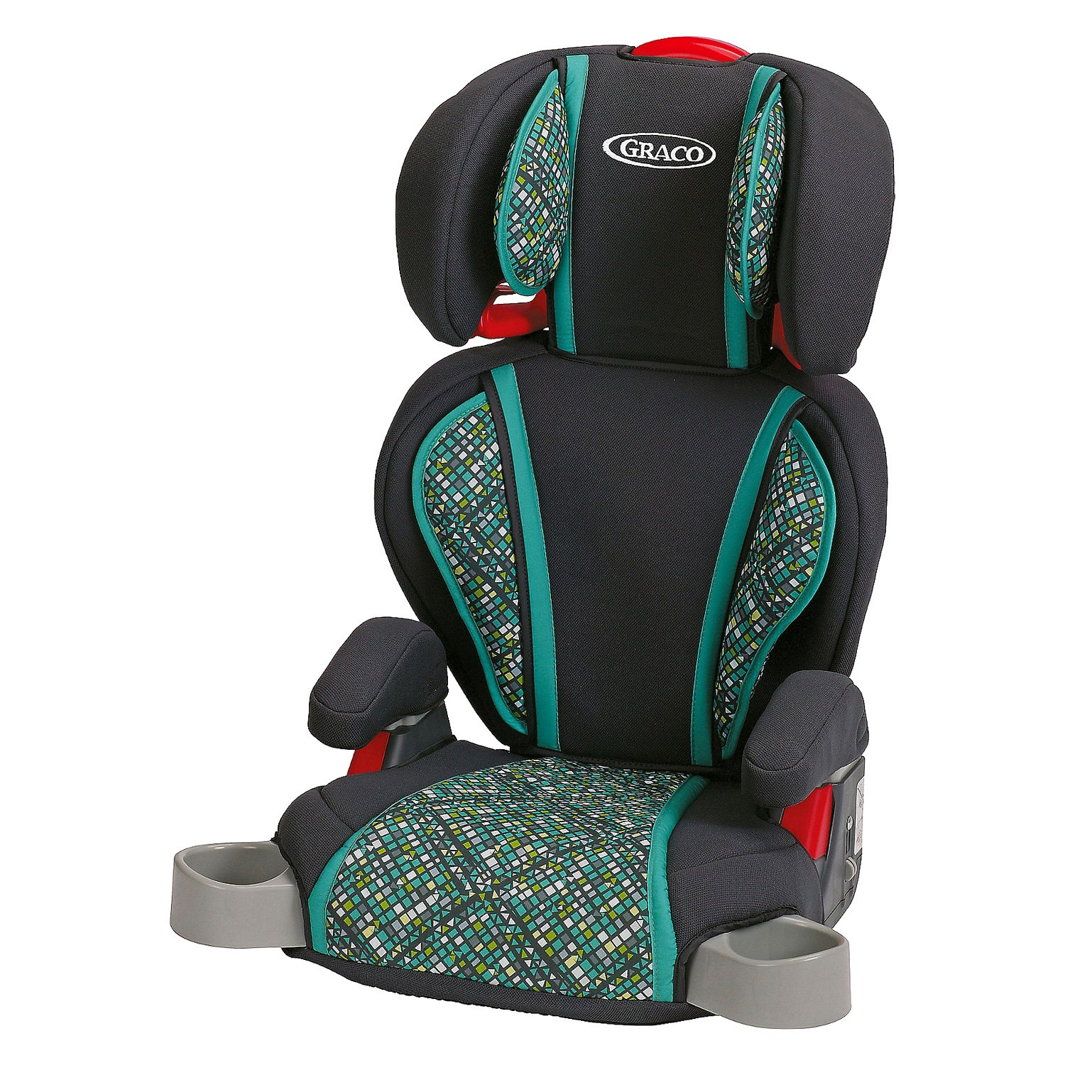 graco baby 1834909 highback turbobooster mosaic style car seat rh carid com graco turbobooster owners manual Graco Seat