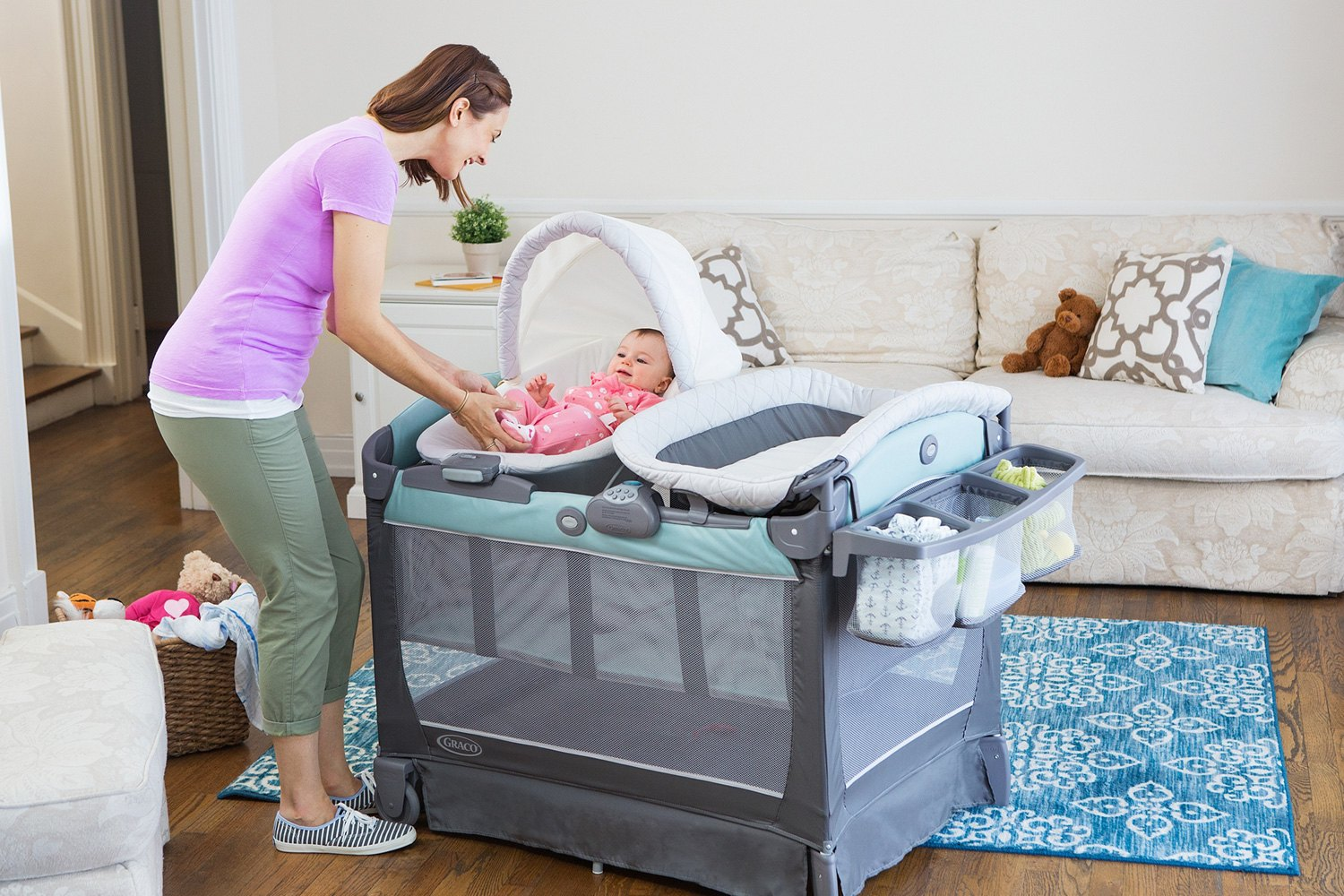 Pack N Play With Bassinet And Changing Table Graco Pack