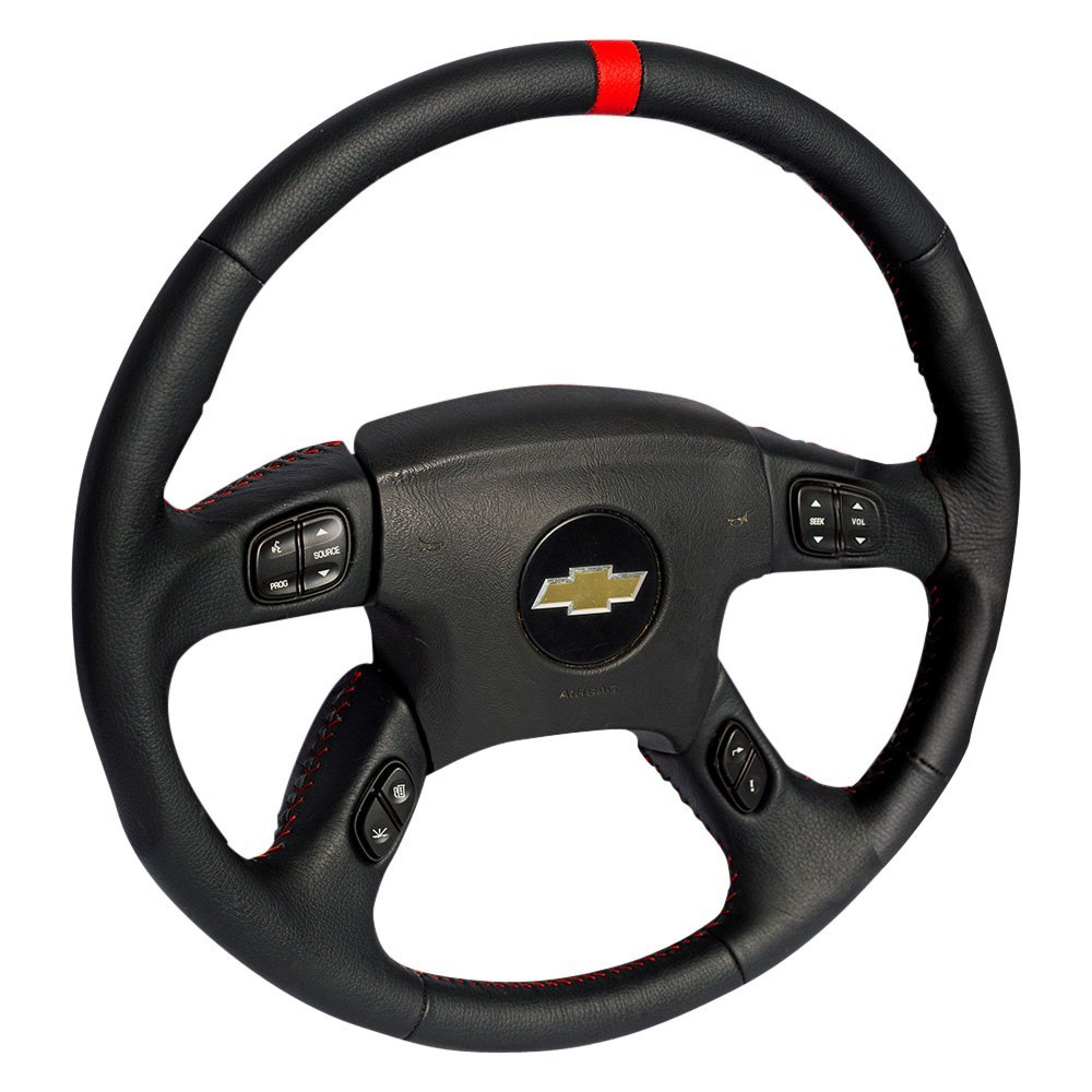 Grant 61040 4 Spoke Revolution Series Airbag Replacement Steering 2003 Chevy Trailblazer Seat Wiring Wheel With Red Center Mark
