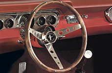 Mustang Clasic Combination Style Steering Wheel by Grant®