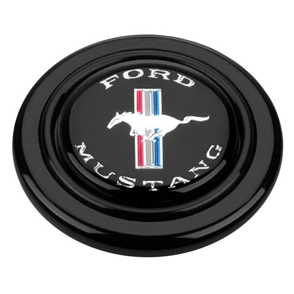 grant 5668 signature style horn button with ford mustang emblem. Black Bedroom Furniture Sets. Home Design Ideas