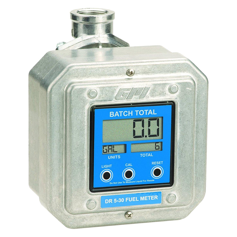 Digital Gas Meter : Gpi  dr digital fuel meter