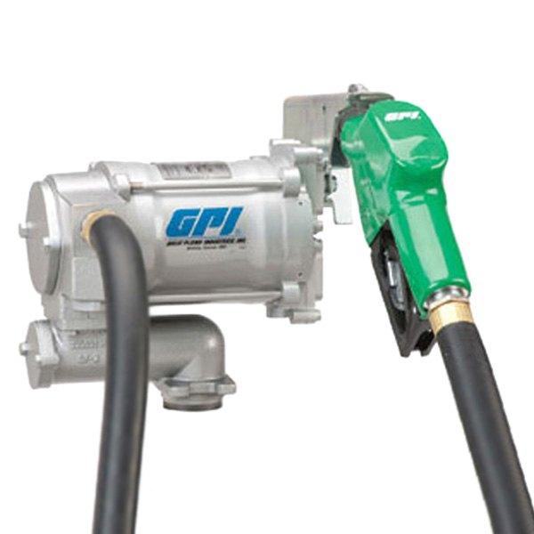 Gpi 133200 33 m 3120 heavy duty fuel transfer pump for Gpi fuel pump motor