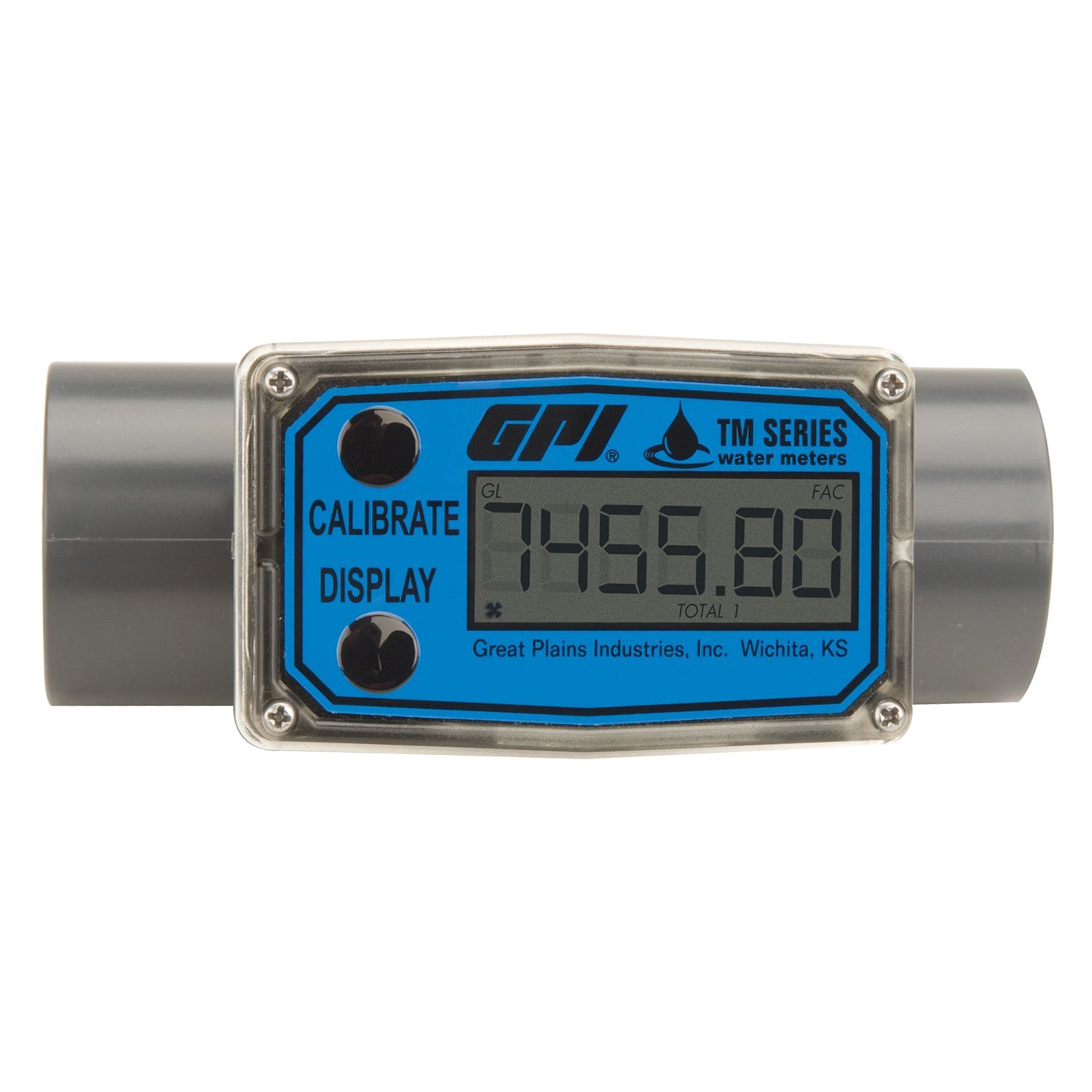 Electronic Flow Meter : Gpi turbine digital water flow meter