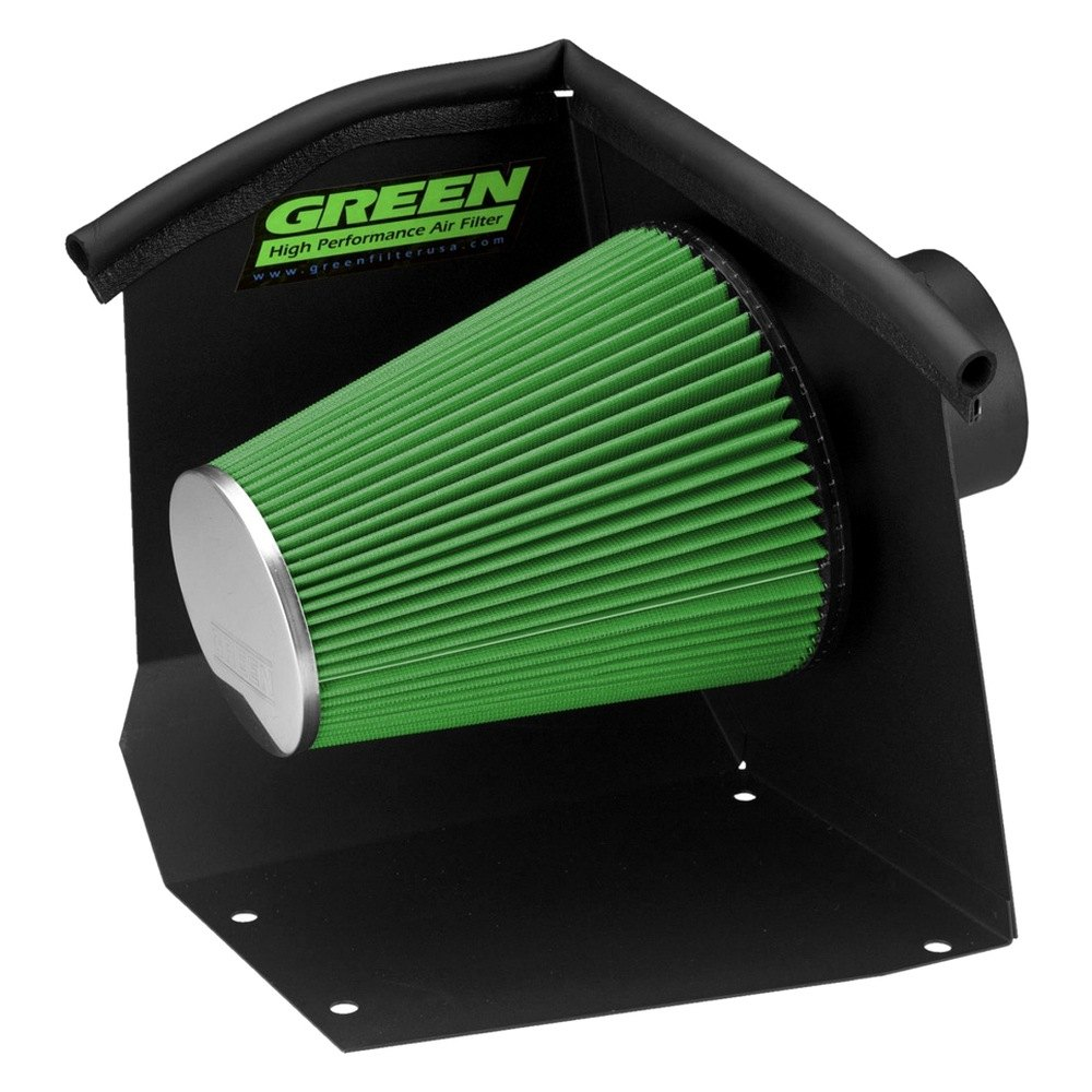 Green Filter® 2556 - Cold Air Intake System w/o Tube (2500 HD)