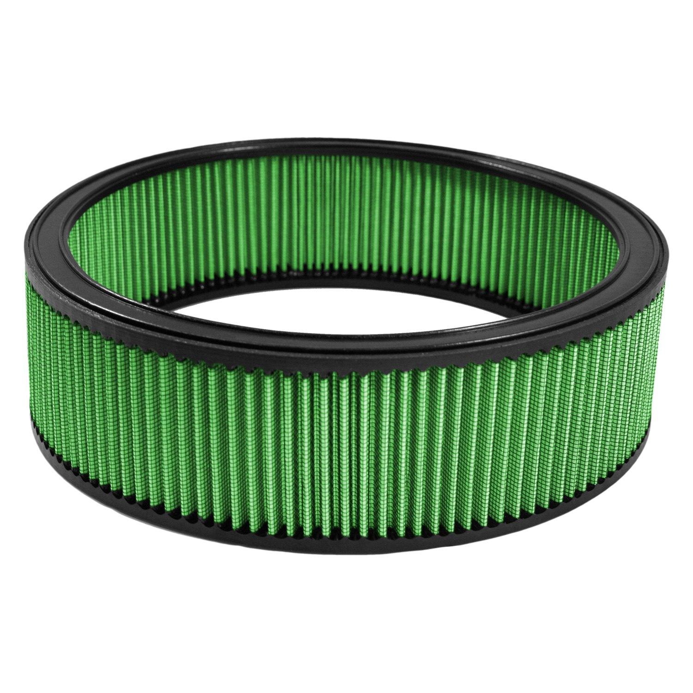 Round Air Filter : Green filter round air