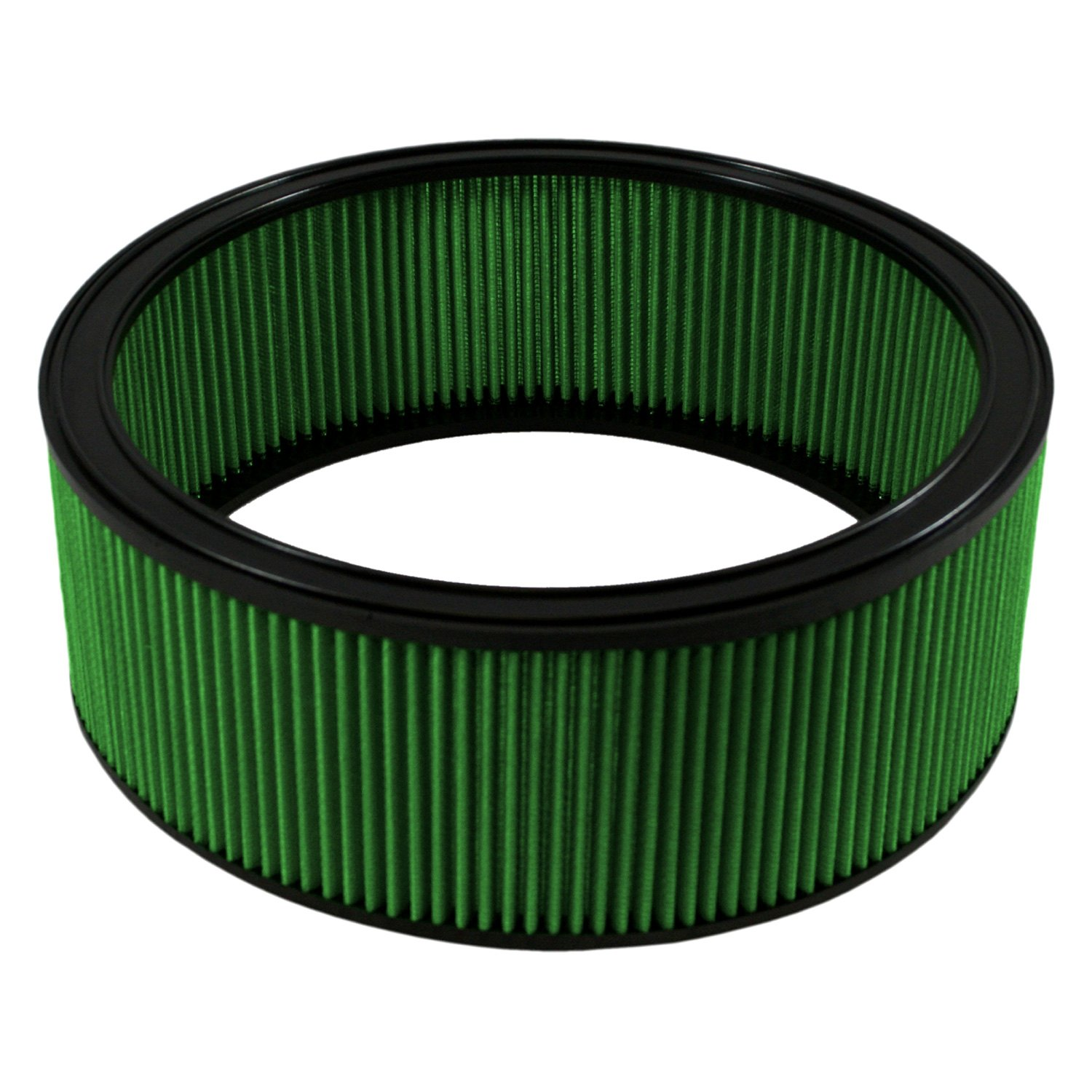 12 Round Air Cleaner : Green filter round air quot id
