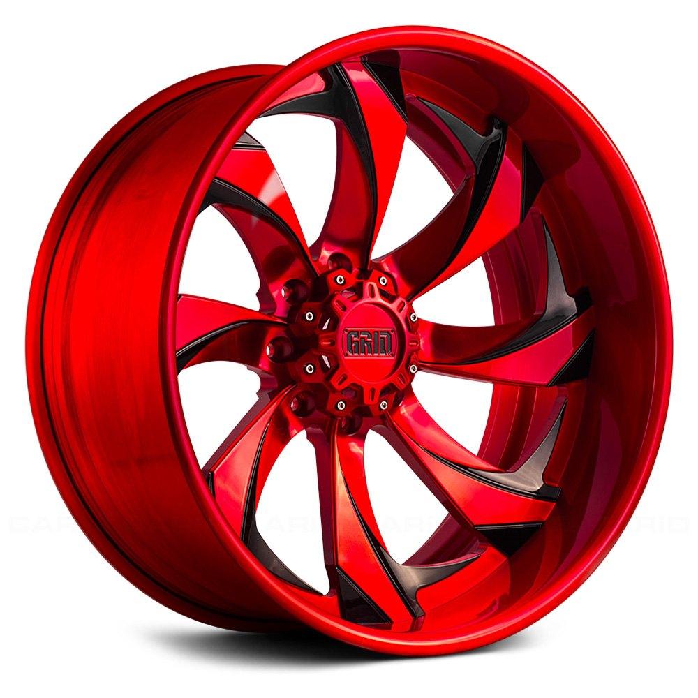 Grid Off Road 174 Gf4 Wheels Custom Painted Rims
