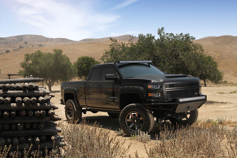 GRID OFF-ROAD® GD6 Wheels - Matte Black with Bronze Face Rims