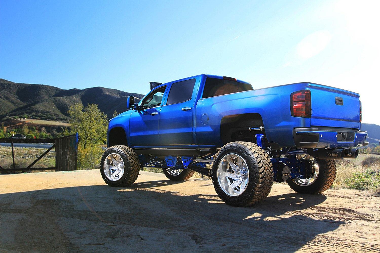 Chevy Silverado Custom Wheels >> GRID OFF-ROAD® GF6 Wheels - GF6 Brushed High Polish Rims