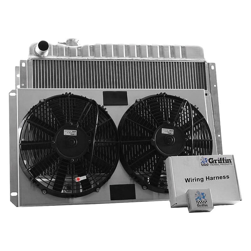 Griffin Thermal® CU-00009 - Performance Direct Fit Combo Unit Radiator