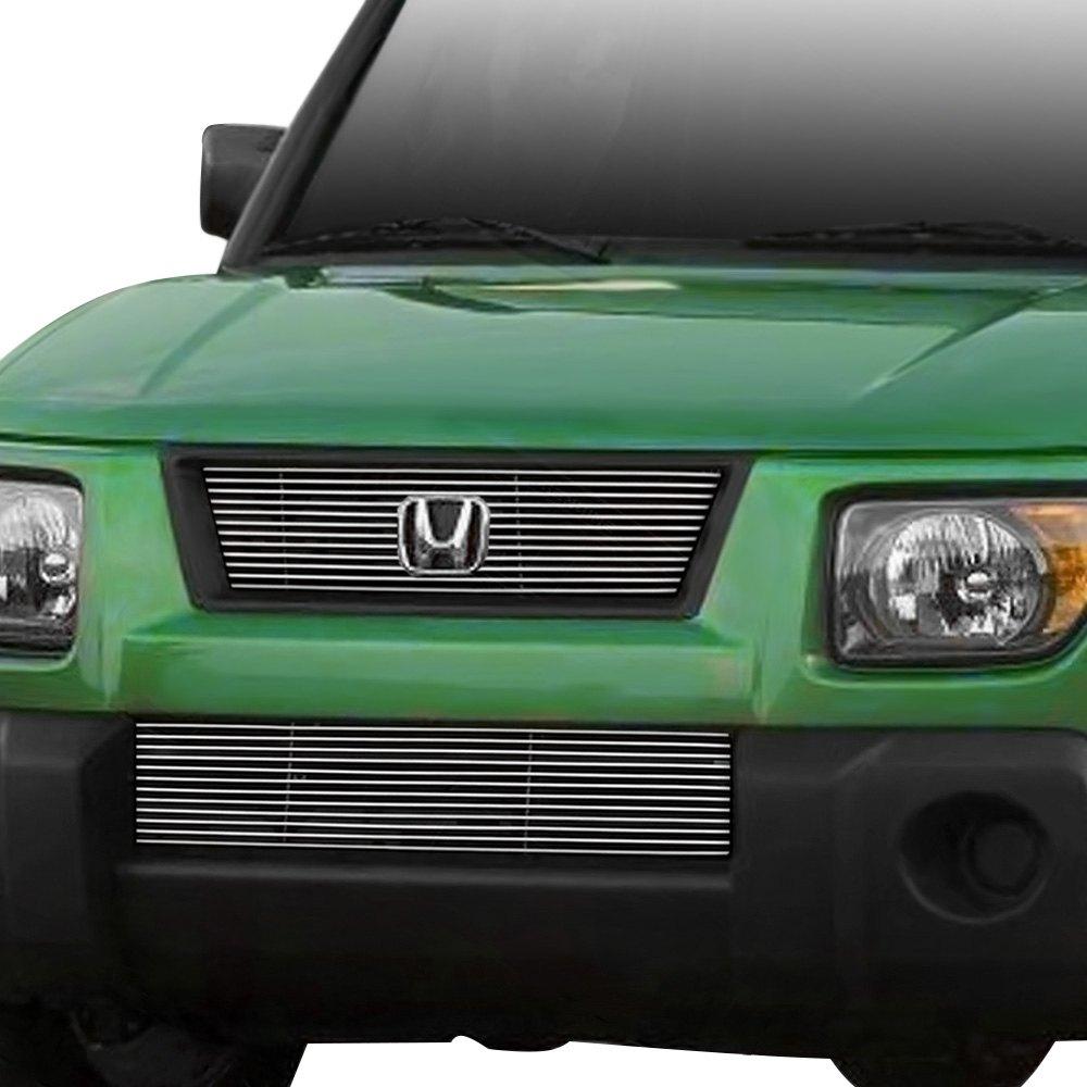 Custom Honda Element Interior >> Grillcraft® - Honda Element 2007 1-Pc BG Series Polished Billet Grille