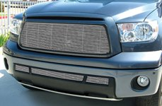 GrillCraft® - BG-Series Polished Billet Grille on Toyota Tundra