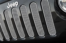 GrillCraft® - Jeep Wrangler Mesh Grille