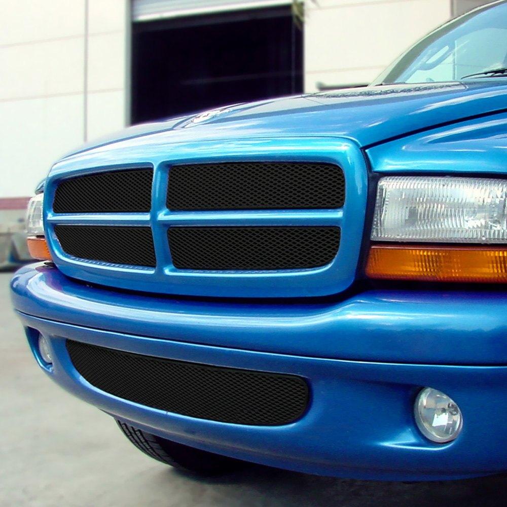 Dodge Dakota 1997-2001 MX Series Black Fine