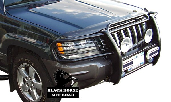 BLACK HORSE® - Modular Grille Guard. Item Number: 60484. 1999 Jeep Grand