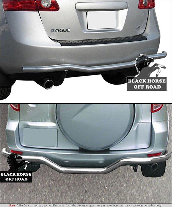 Rear Bumper Guard - Installed