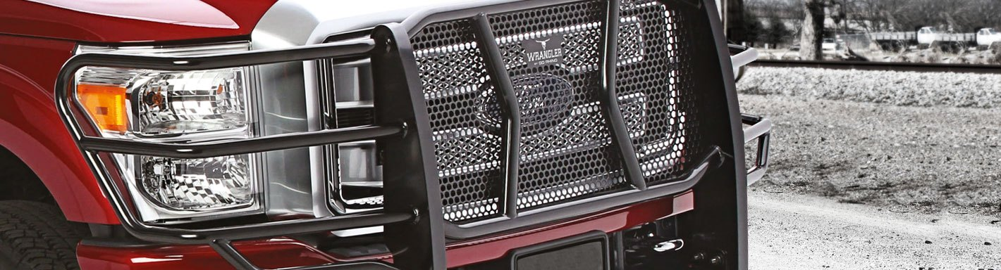 Hyundai Santa Fe Grille Guards