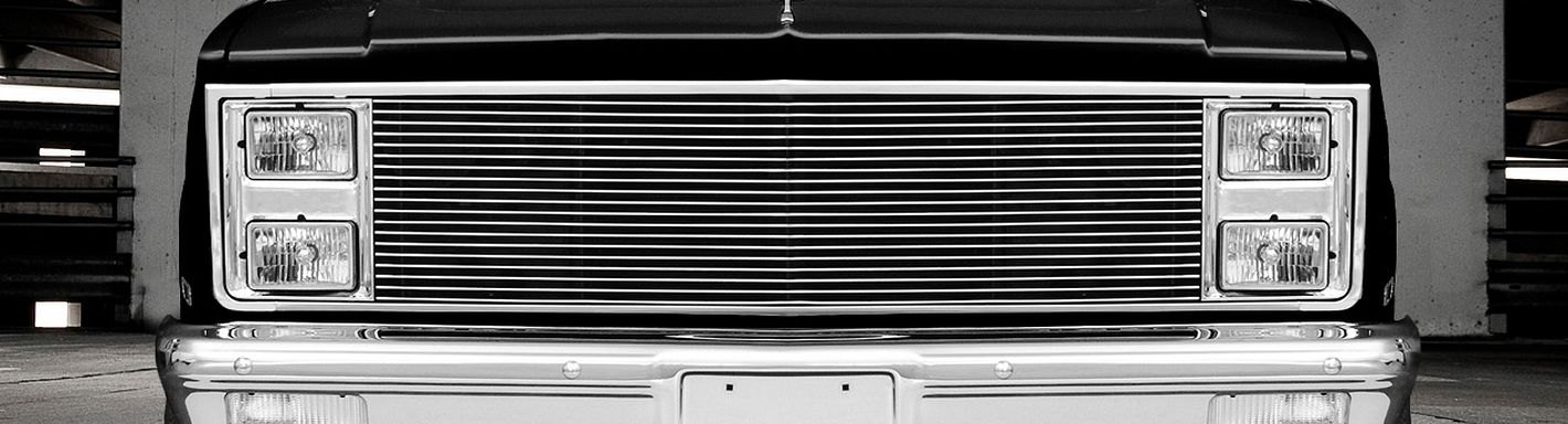 1986 Chevy Blazer Custom Grilles | Billet, Mesh, LED ...