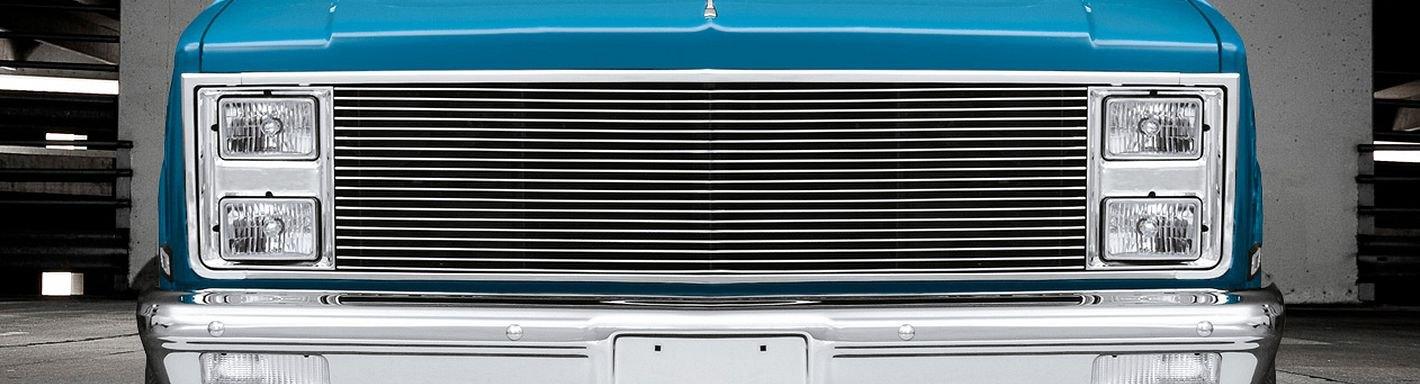 1986 Chevy Suburban Custom Grilles | Billet, Mesh, LED, Chrome, Black