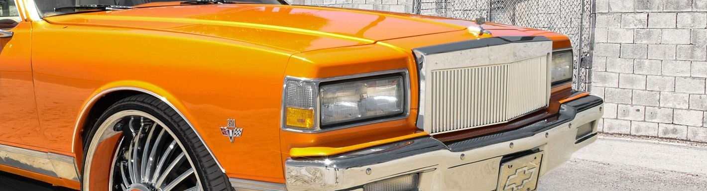 1988 Chevy Caprice Custom Grilles   Billet, Mesh, LED ...