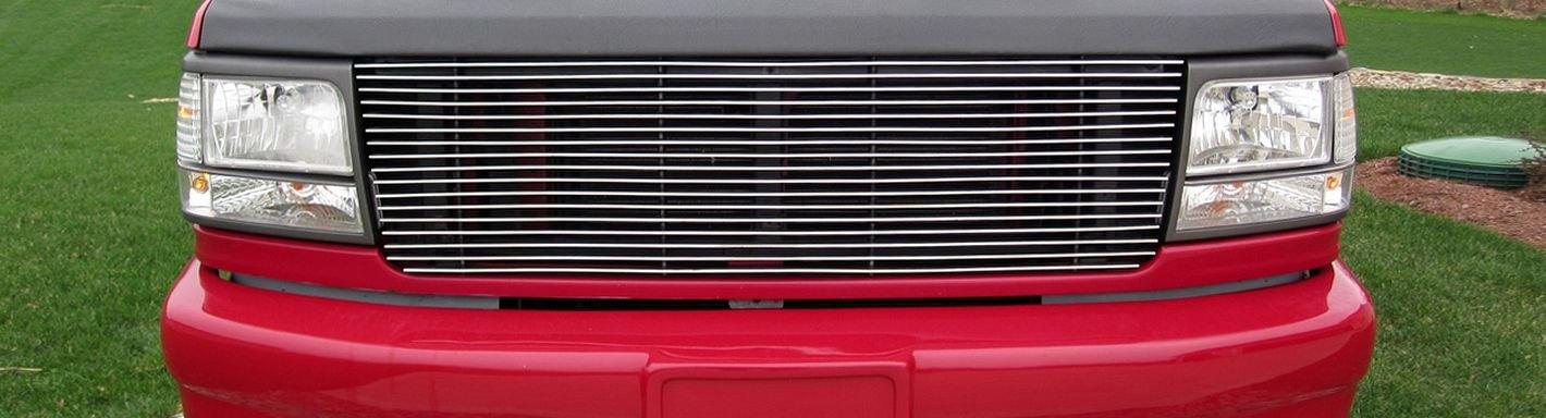 1992 Ford F 150 Custom Grilles Billet Mesh Led Chrome