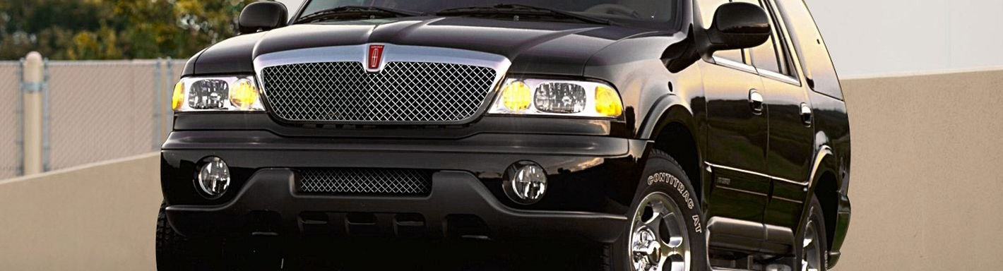 2000 Lincoln Navigator Custom Grilles Billet Mesh Led Chrome Black
