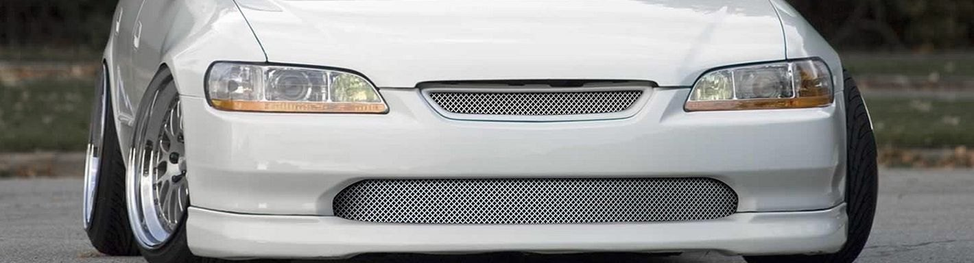 2002 honda accord custom grilles billet mesh led. Black Bedroom Furniture Sets. Home Design Ideas