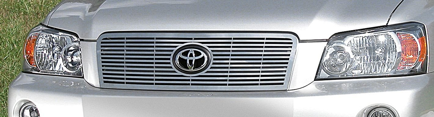 Toyota Highlander Custom >> 2003 Toyota Highlander Custom Grilles | Billet, Mesh, LED, Chrome, Black