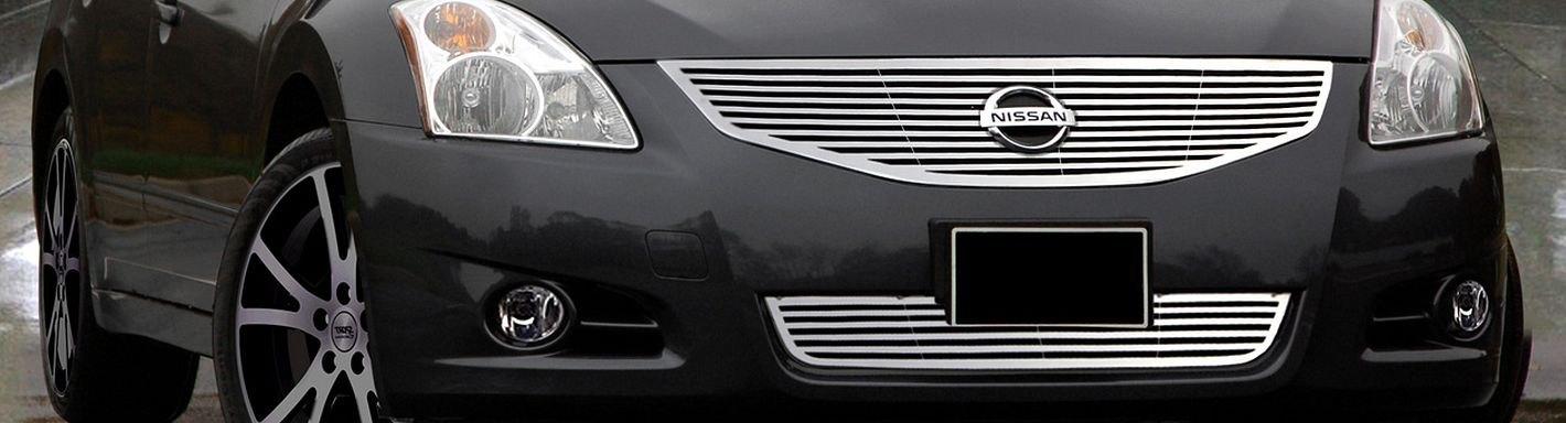 2002 Nissan Altima Custom Grilles Billet Mesh Led Chrome Black