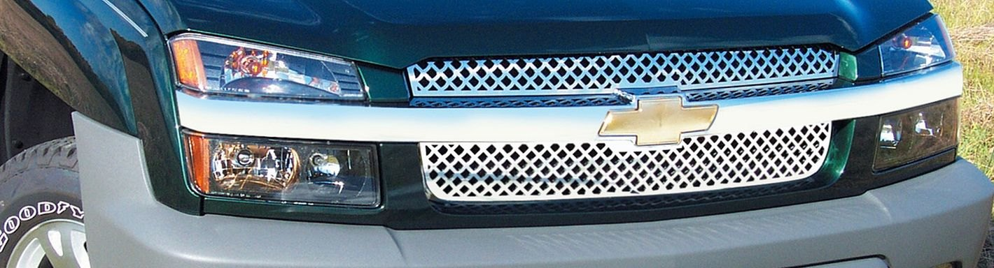 Chevy Avalanche Custom Grilles - 2002