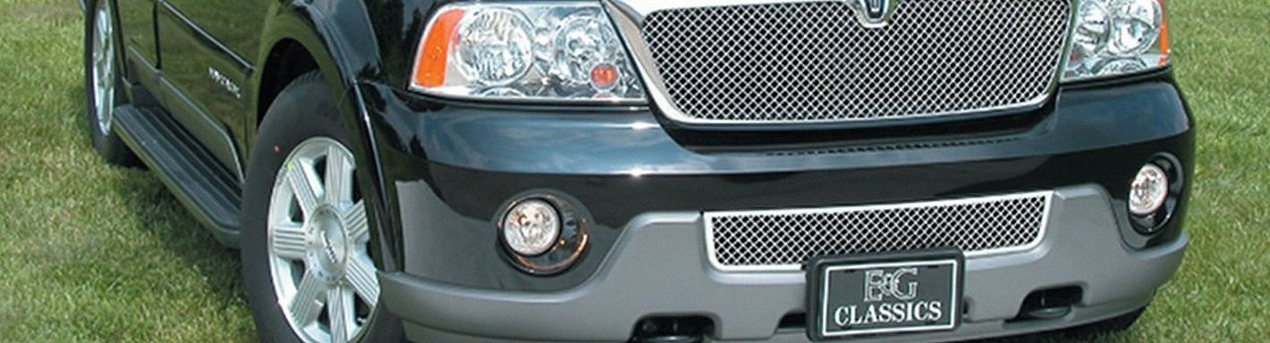 2004 lincoln navigator custom grilles billet mesh led chrome black lincoln navigator custom grilles 2004 sciox Gallery