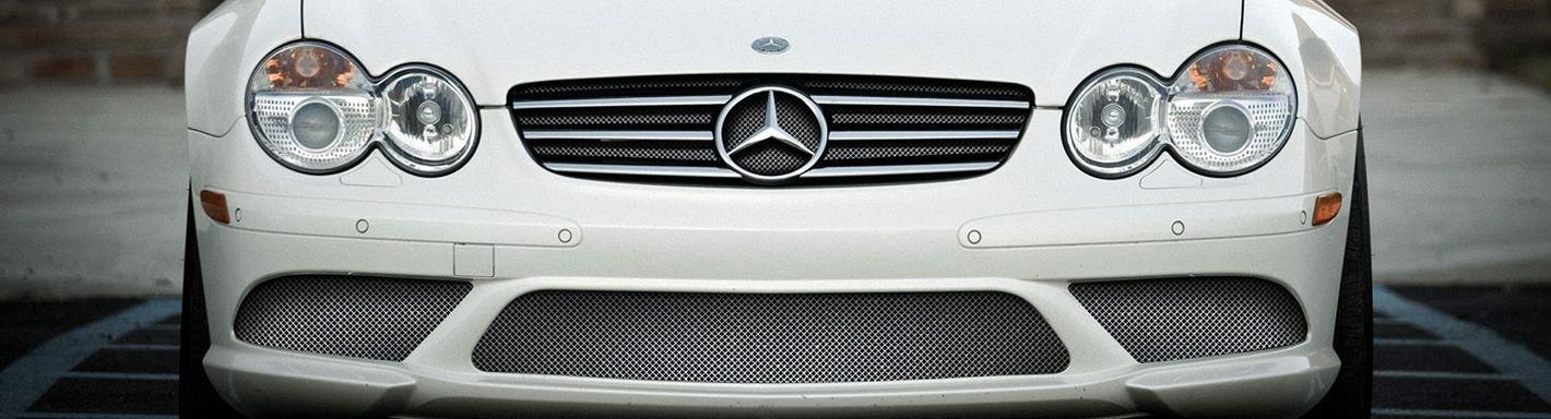 2004 mercedes sl class wire mesh grilles for Mercedes benz custom grills