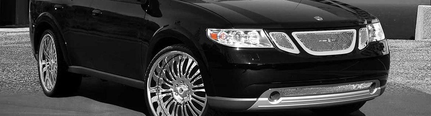 2007 Saab 9-7X Custom Grilles | Billet, Mesh, LED, Chrome, Black