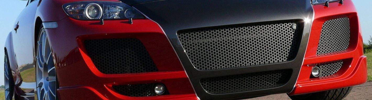 2005 Mazda Rx 8 Custom Grilles Billet Mesh Led Chrome Black