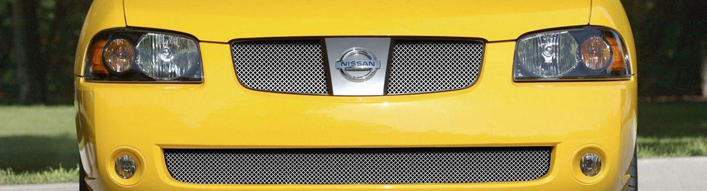2004 Nissan Sentra Custom Grilles | Billet, Mesh, LED, Chrome, Black
