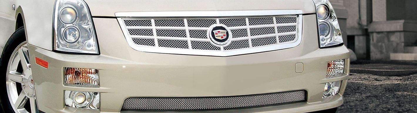 2005 Cadillac Sts Custom Grilles Billet Mesh Led