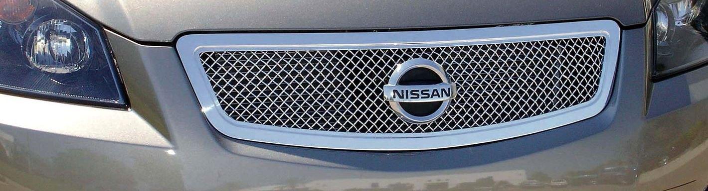 2005 nissan altima custom grilles billet mesh led - 2005 nissan altima custom interior ...