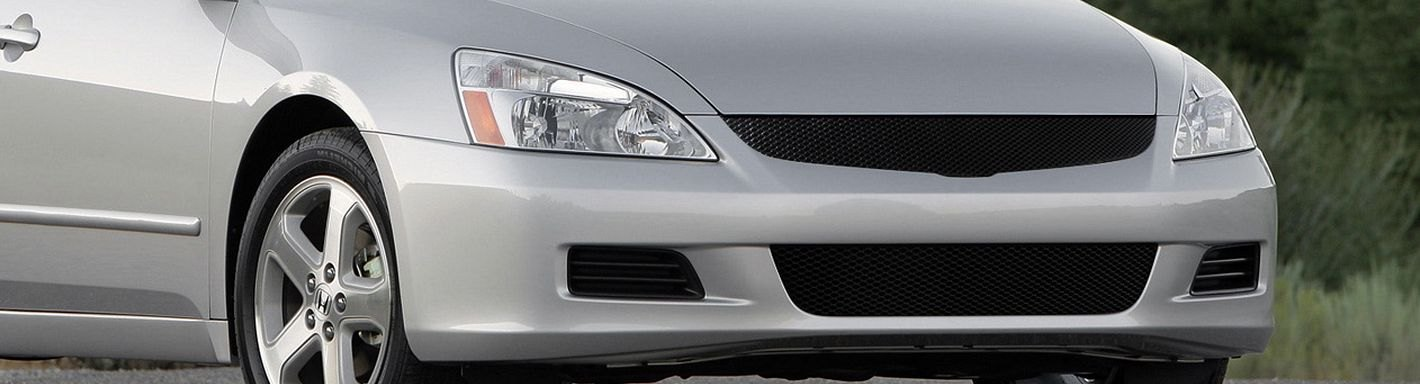 2006 Honda Accord Custom Grilles Billet Mesh Led