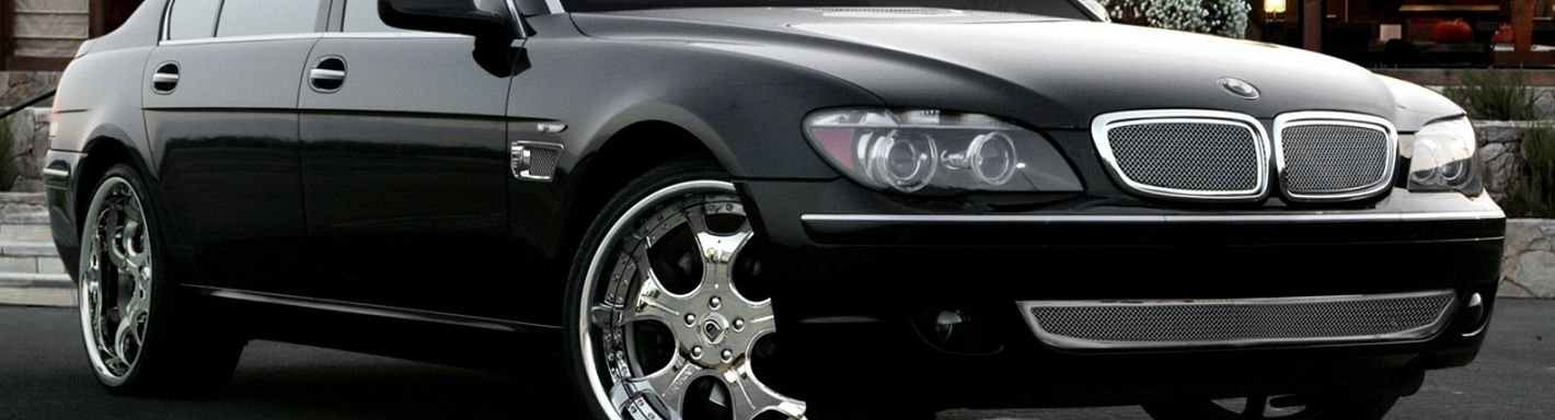BMW 7 Series Custom Grilles