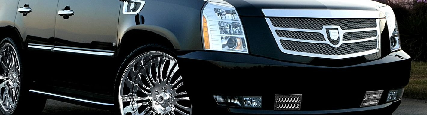 2009 Cadillac Escalade Custom Grilles | Billet, Mesh, LED