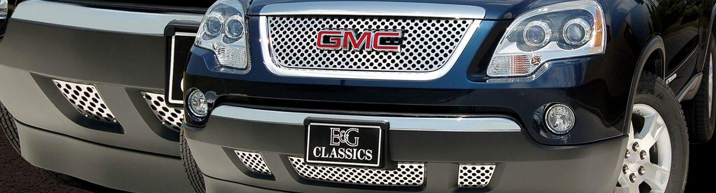2008 gmc acadia custom grilles billet mesh led chrome. Black Bedroom Furniture Sets. Home Design Ideas