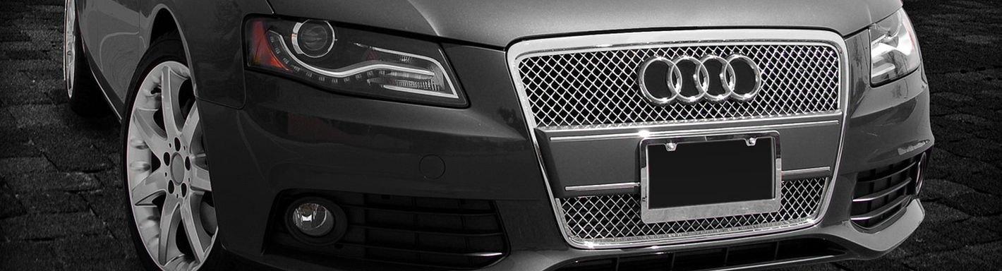2007 Audi A4 Custom Grilles Billet Mesh LED Chrome Black