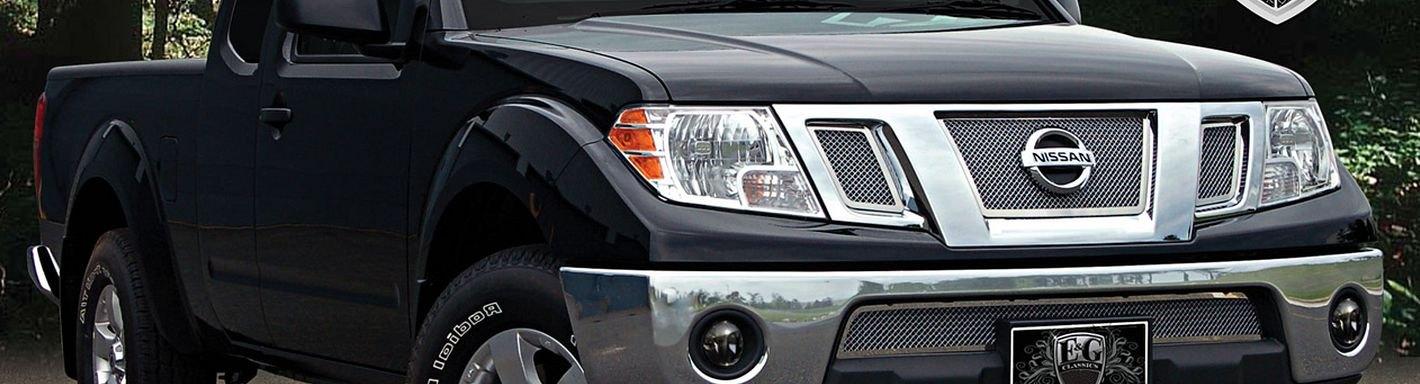 2011 Nissan Frontier Custom Grilles Billet Mesh Led