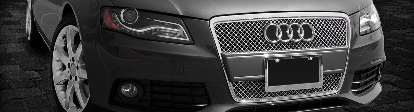 2011 Audi A4 Custom Grilles Billet Mesh Led Chrome Black