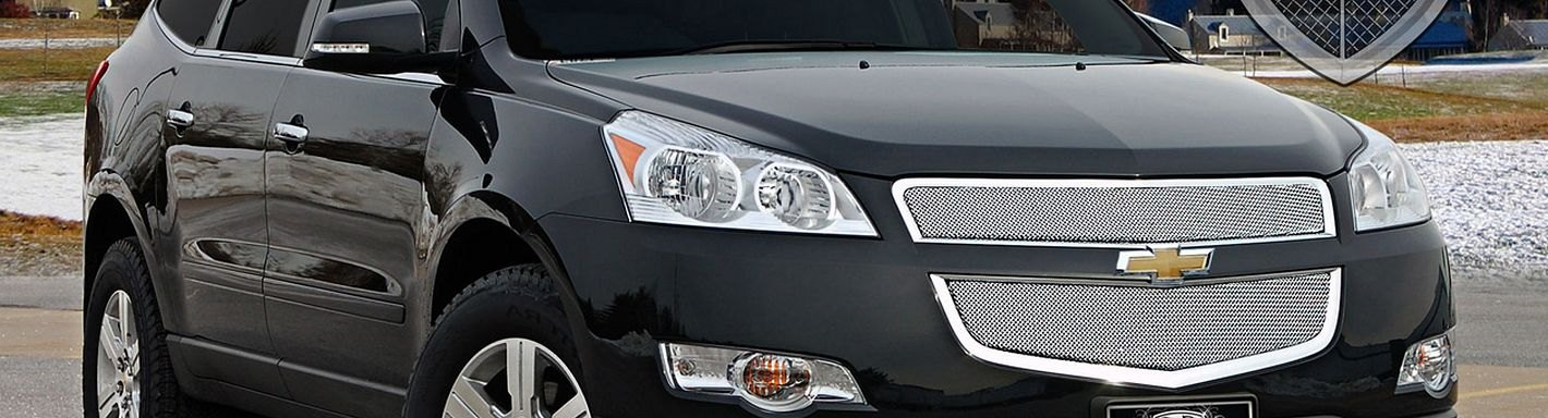 Chevy Traverse Custom Grilles - 2011