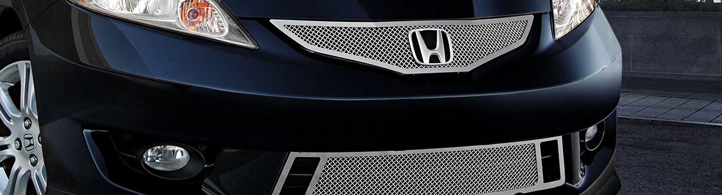 2011 Honda Fit Custom Grilles Billet Mesh Led Chrome