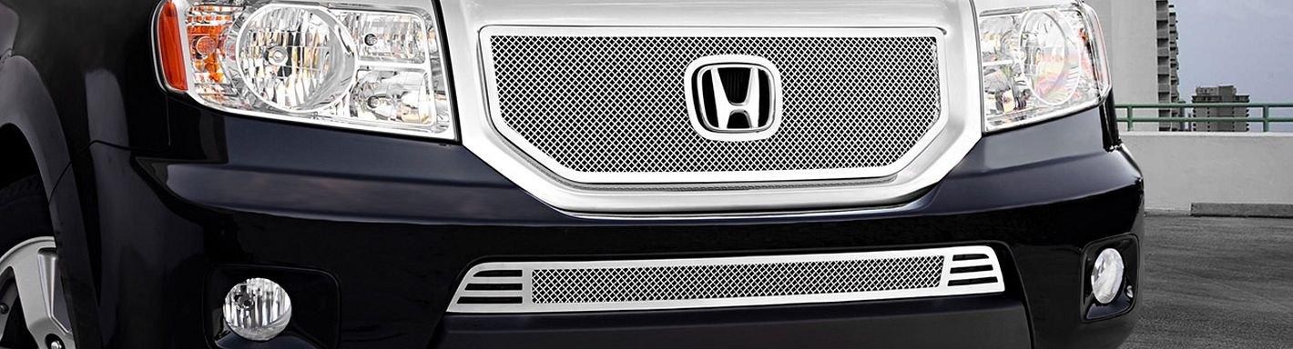 2009 Honda Pilot Custom Grilles Billet Mesh Led