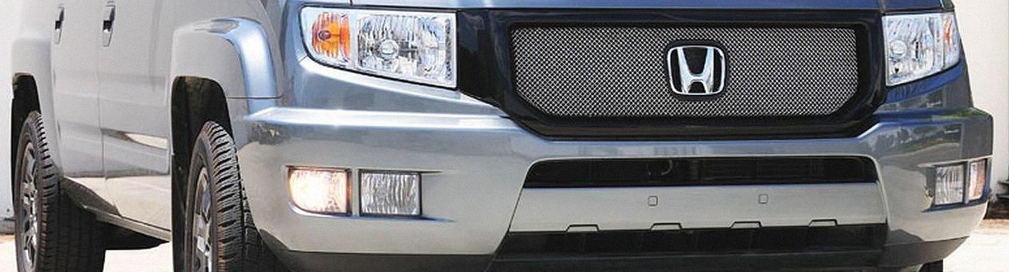 2013 Honda Ridgeline Custom Grilles Billet Mesh Led